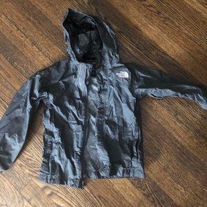 Grey Rain coat